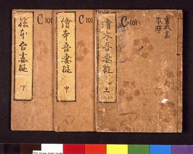 Kitagawa Utamaro: Ehon Azuma asobi 絵本吾妻遊 (Picture Book: Amusements of Edo) - British Museum