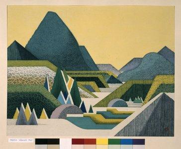 前田藤四郎: Yoroidake (Armour Peak) - 大英博物館