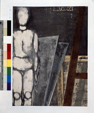 Onchi Koshiro: Mannequin in the Studio - British Museum