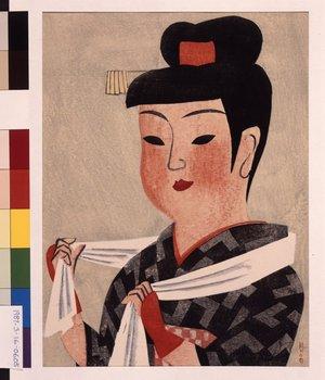 前川千帆: Akita Dancer - 大英博物館