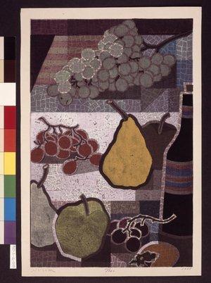 Mabuchi Toru: Budo to uri (Grapes and Melons) - British Museum