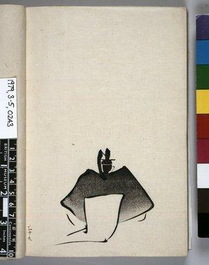 北尾政美: Tenarai hyakunin isshu 手習百人一首 (The Hundred Poems for Handwriting Practice) - 大英博物館