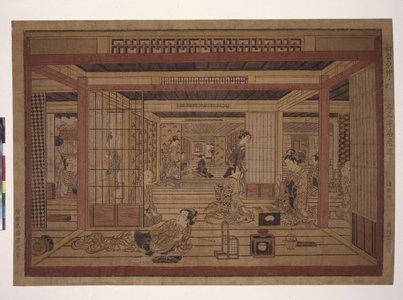 Torii Kiyotada I: uki-e / print - British Museum