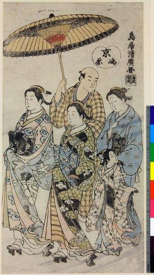 Torii Kiyohiro: Kyo-Shimabara - British Museum