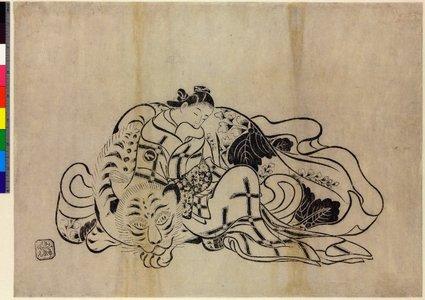 Okumura Masanobu: mitate-e / print - British Museum