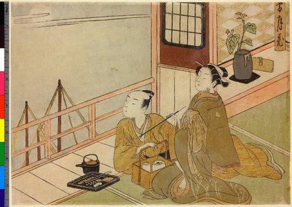 鈴木春信: Setsu-gekka - 大英博物館