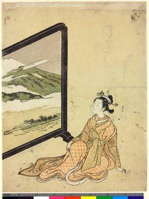 鈴木春信: mitate-e / print - 大英博物館