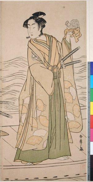 Katsukawa Shunsho: triptych print - British Museum