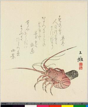 Bun'yu: surimono - British Museum