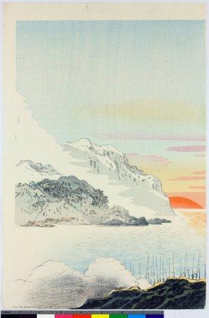 向陽: triptych print - 大英博物館