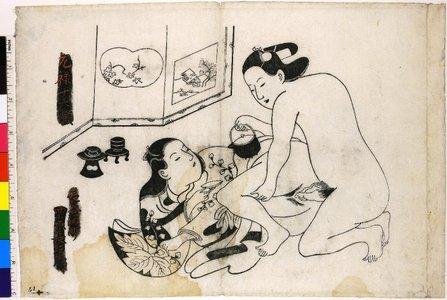 Torii Kiyonobu I: shunga / print - British Museum