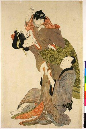 Kitagawa Utamaro: shunga / abuna-e - British Museum