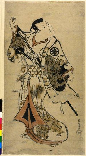 Torii Kiyonobu I: - British Museum