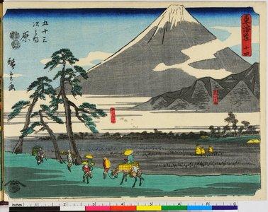Utagawa Hiroshige: Tokaido - British Museum