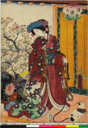 Utagawa Kunisada: Genji rokujo no hana - British Museum