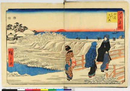 Utagawa Hiroshige: Edo Meisho - British Museum