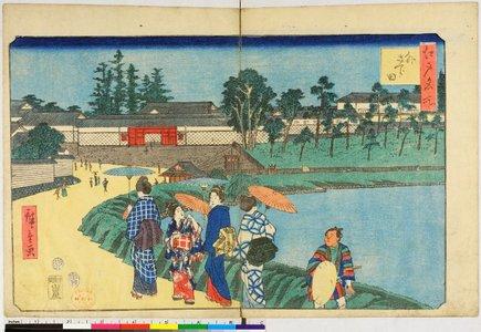 歌川広重: Edo Meisho - 大英博物館
