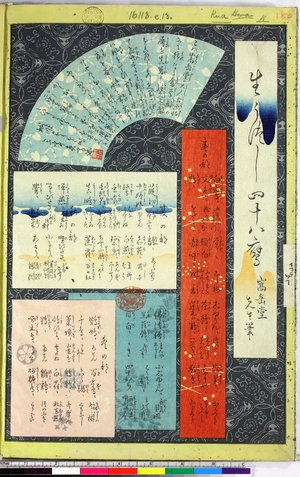 Sugakudo: Furyu kacho awase - 大英博物館