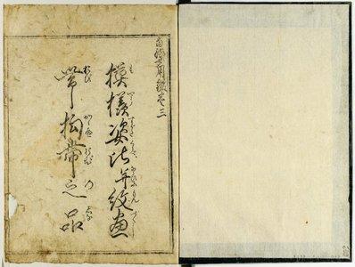 吉田半兵衛: Toryu onna yo kagami 当流女用鑑 - 大英博物館