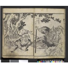 Katsushika Hokusai: Shimpen Suiko Gaden 新編水滸画伝 - British Museum