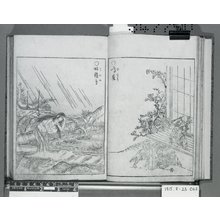 Toriyama Sekien: Konjaku zoku hakki 今昔続百鬼 (Night Procession of One Hundred Demons) - British Museum