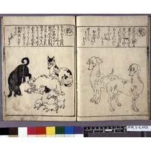 Hishikawa Moronobu: Kedamono ehon zukushi 獣絵本尽 (Complete Picture-book of Animals) - British Museum