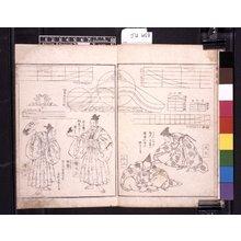 葛飾北斎: (Shoshoku Ehon) Katsushika Shin Hinagata (諸職絵本)葛飾新鄙形 - 大英博物館