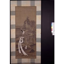 Kubo Shunman: mitate-e / painting / hanging scroll - British Museum