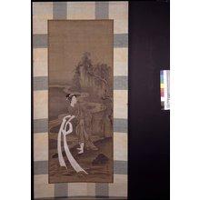 窪俊満: mitate-e / painting / hanging scroll - 大英博物館