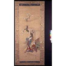 川又常正: painting / hanging scroll - 大英博物館