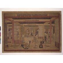 鳥居清忠: uki-e / print - 大英博物館