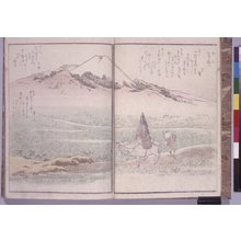Yanagawa Shigenobu: Kyoka meisho zue 狂歌名所図会 (Kyoka Illustrated with Fine Views) - British Museum