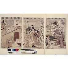 Kitagawa Utamaro: print / polyptych print - British Museum