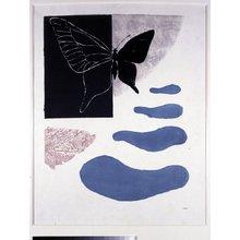 恩地孝四郎: Butterfly Season - 大英博物館