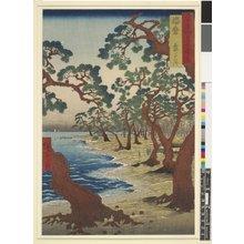 Utagawa Hiroshige: Harima Maiko no hama / Rokuju-yo Shu Meisho Zue - British Museum