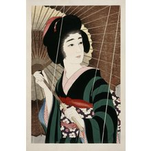 Torii Kotondo: Ame (Rain) - British Museum