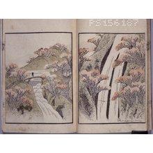 屋島岳亭: Ichiro gafu 一老画譜 (Ichiro's Picture-album) - 大英博物館