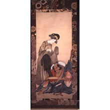 長喜: mitate-e / painting / hanging scroll - 大英博物館