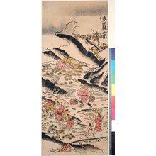 鳥居清倍: Natsu-ta-ne no zu (Summer) / Shiki no hyakusho (Peasants in the Four Seasons) - 大英博物館