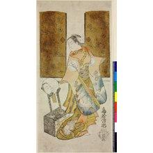 Torii Kiyotada I: - British Museum