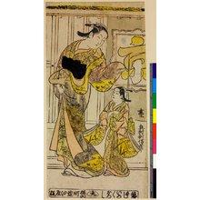 奥村利信: triptych print - 大英博物館