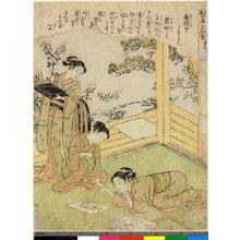 Kitao Shigemasa: Dai-shichi / Kaiko Yashinai-gusa - British Museum