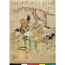 Kitao Shigemasa: Dai-ju / Kaiko Yashinai-gusa - British Museum