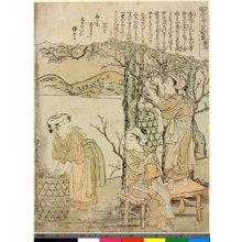 Kitao Shigemasa: Dai-ni / Kaiko Yashinai-gusa - British Museum