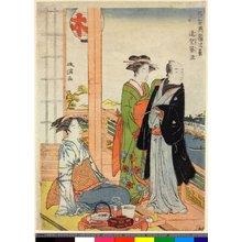 Kyoden): Enbo Tsukuba / Tosei Ryogoku Hakkei - 大英博物館