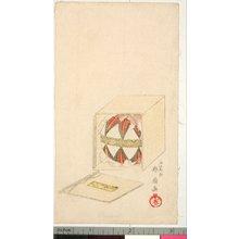 Shunsen: surimono - 大英博物館