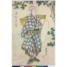 歌川豊国: polyptych print - 大英博物館