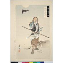 Ogata Gekko: Ishogai Jurozaemon 磯貝十郎左衛門 / Gishi shijushichi zu 義士四十七図 - British Museum