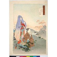 Ogata Gekko: 東中君 / Gekko zuihitsu 月耕随筆 - British Museum