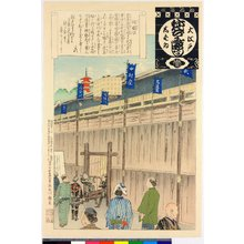 Adachi Ginko: Ita kakoi / O-Edo shibai nenju-gyoji (Annual Events of the Edo Theatre) - British Museum